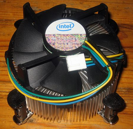 processorkoeler voor de Intel Core2 Duo